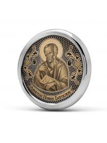"""Круглая автомобильная икона """"Апостол Иоанн Богослов"""" (С-40 АП.ИБ.)"""