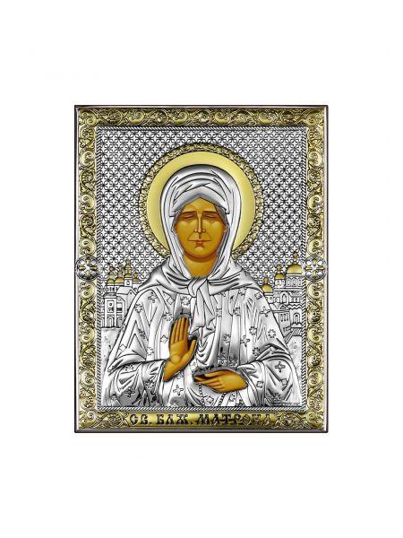 """Икона """"Святая Матрона"""" (арт. СПД1-СМ)"""