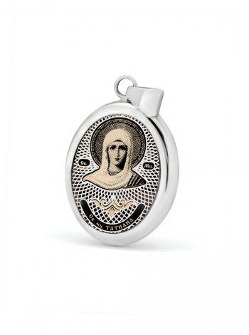 """Фото - Овальная икона подвеска """"Св. мученица Татиана"""" (арт. С-020 Татиана)"""