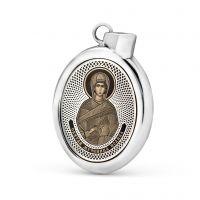 """Овальная икона подвеска """"Иоанна"""" (арт. С-027 Иоанна)"""