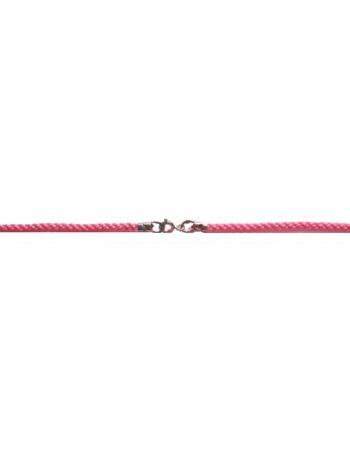 Фото - Гайтан текстильный розовый (арт. Ш-01 роз)