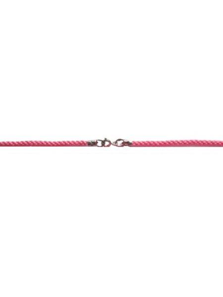 Гайтан текстильный розовый (арт. Ш-01 роз)
