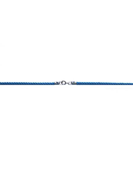 Гайтан текстильный синий (арт. Ш-01 син)