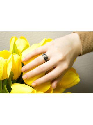 Кольцо с молитвой: «Господи, помилуй» (арт. Э20049)