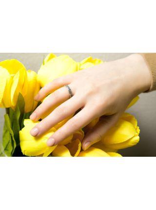 Кольцо с молитвой «Господи, спаси и сохрани» (арт. ВСЧ 4012)