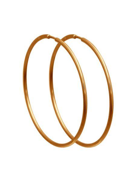 Серьги конго. Диаметр 60 мм (арт. 36000)