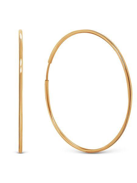 Серьги конго. Диаметр 57 мм (арт. 71390)