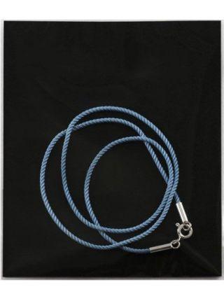 Шнурок шелковый крученый  (арт. 700021-745) голубой