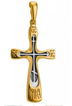 КРЕСТ НАТЕЛЬНЫЙ «УПОВАНИЕ ВЕРНЫХ» (арт. 568 п)
