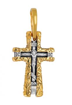 КРЕСТ НАТЕЛЬНЫЙ «ПРОЦВЕТШИЙ» (арт. 642 п)