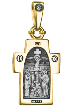 КРЕСТИК НАТЕЛЬНЫЙ С ОБРАЗОМ АНГЕЛА-ХРАНИТЕЛЯ (арт. 684 п)