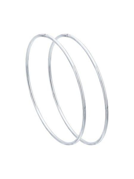 Серьги конго из серебра (арт. 94140048)