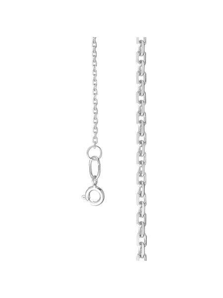 Цепочка якорная с алмазной гранью (арт. Ц1ЯК17СР018080)