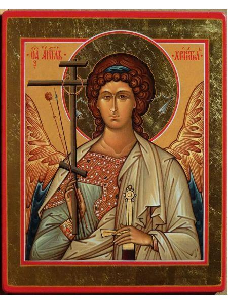 """Икона """"Традиции Золотого Века  св. Ангел Хранитель Поясной"""""""