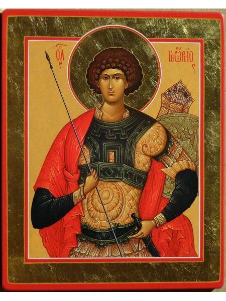 """Икона """"Традиции Золотого Века  св. Георгий"""""""