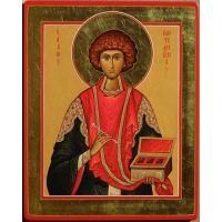 """Икона """"Традиции Золотого Века  св. Пантелеймон"""""""