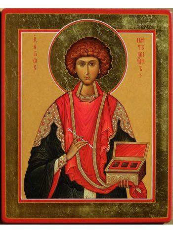 """Фото - Икона """"Традиции Золотого Века  св. Пантелеймон"""""""