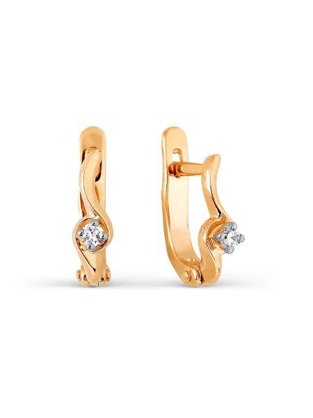 Серьги с бриллиантами (арт. Т131026929)