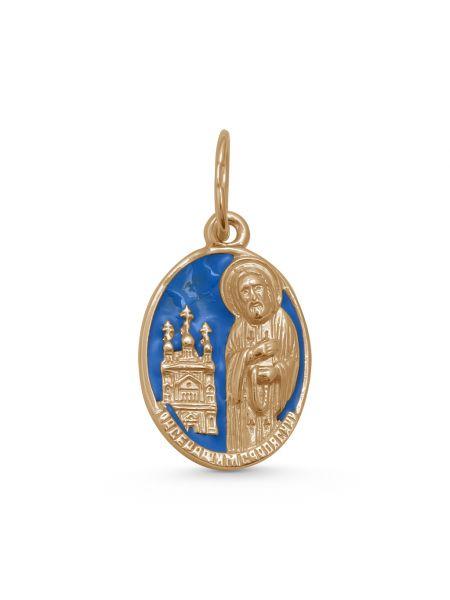 Иконка Серафим Саровский с молитвой (арт. 3-236 з эм)