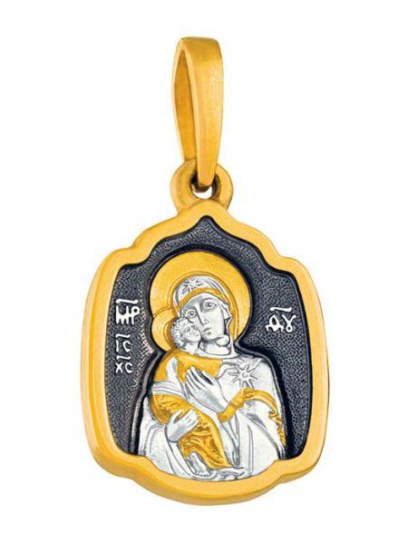 Иконка Образ Пресвятой Богородицы Владимирской (арт. ИСЧЗ 2517)