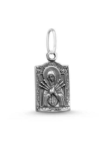 """Образ """"Божия Матерь Семистрельная"""" с молитвой (арт. 3-219 ч)"""