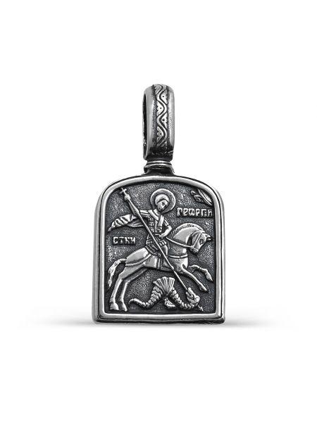 """Образ """"Св. Георгий Победоносец"""" с молитвой (арт. 3-241 ч)"""