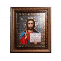 """Икона - Киот """"Христос Спаситель"""" (арт. К01)"""