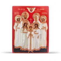 """Икона """"Святая Царская семья"""" (арт. ИД-02 Ц.С.)"""