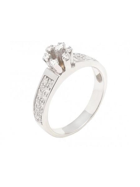 Серебряное кольцо со вставкой (арт. А-26)