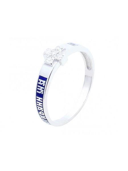 Кольцо с молитвой: «Господи, спаси и сохрани»(арт. Э20084)