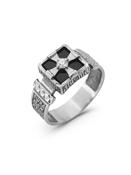 Перстень с молитвой (арт. 1-002 ч)