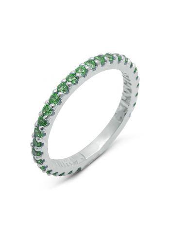 Фото - Серебряное кольцо с молитвой «Господи, спаси и сохрани» (арт. n20495)