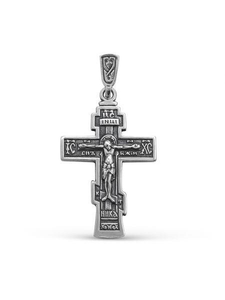 """Нательный крестик """"Распятие Христово"""" с молитвой"""