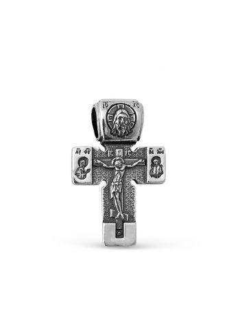 """Фото - Нательный крестик """"Распятие Христово"""" с молитвой"""