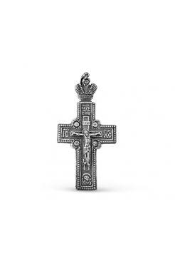 """Православный крест """"Распятие Христово"""" с молитвой"""
