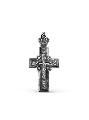 """Фото - Православный крест """"Распятие Христово"""" с молитвой"""