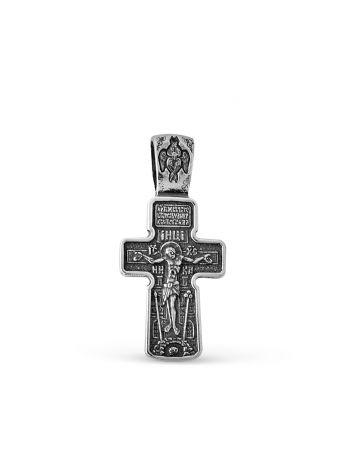 """Фото - Нательный крест """"Распятие Христово. Архангел Михаил. Святая Троица"""""""