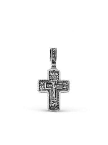 """Фото - Крест """"Распятие Христово. Николай Чудотворец"""" православный"""