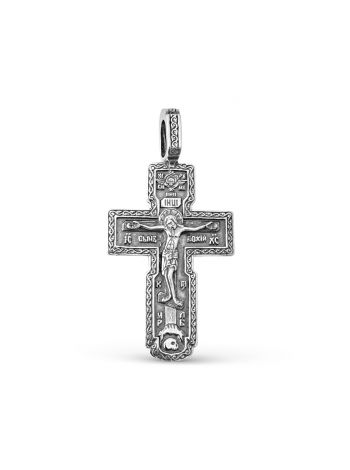 """Фото - Крест православный """"Распятие Христово"""" с молитвой"""