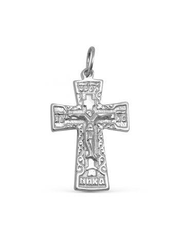 """Нательный крест """"Распятие Христово"""" с молитвой (арт. 37610190000)"""