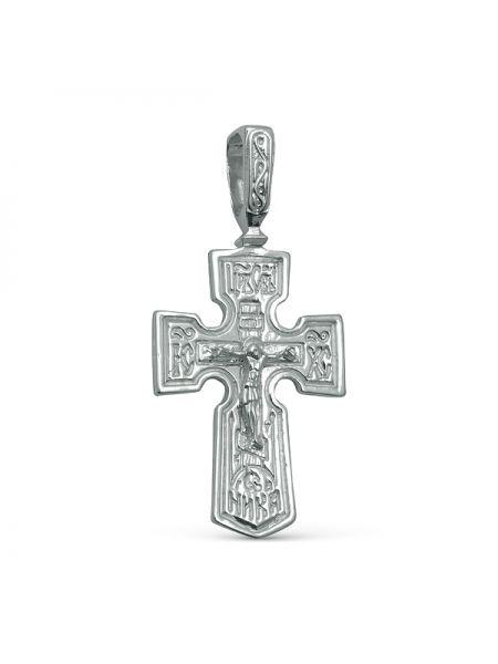 """Нательный крест """"Распятие Христово"""" с молитвой"""