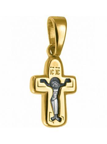 Нательный крест с образом Покрова Божией Матери (арт. 679)