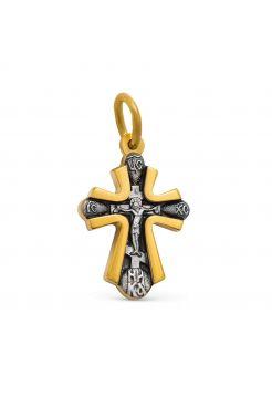Нательный крест «Солнце правды»