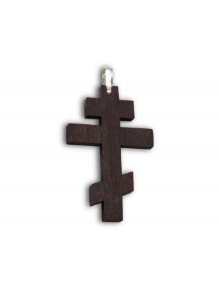 Нательный крестик с распятием (арт. ВКД 001)