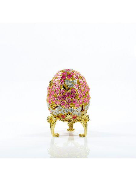 """Пасхальное яйцо """"Клевер"""" Фаберже (арт. ЕВС 07-35)"""