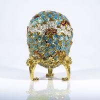 """Пасхальное яйцо-сувенир """"Клевер"""" (арт. ЕВС 07-25)"""