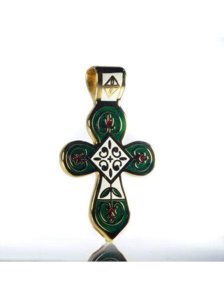 Подвеска крест без распятия