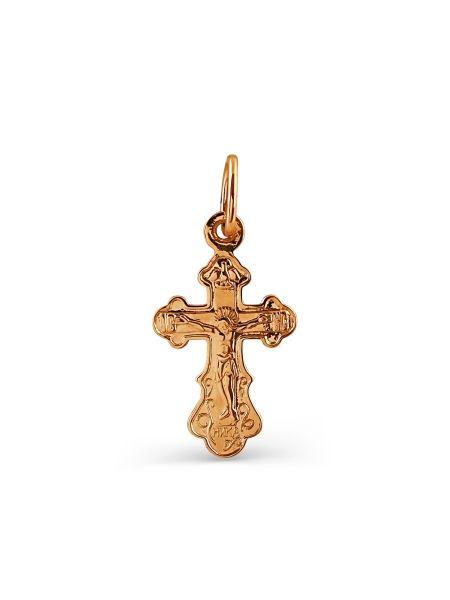 """Золотой православный крест """"Распятие Христово"""""""