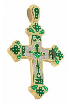 Крест нательный из золота