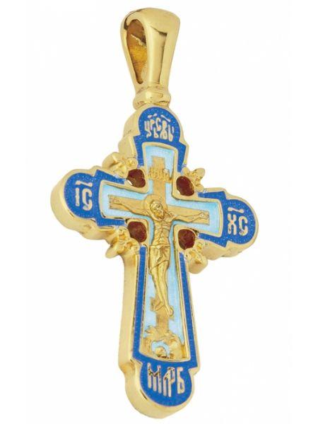 Крест Распятие Господа нашего Иисуса Христа из золота
